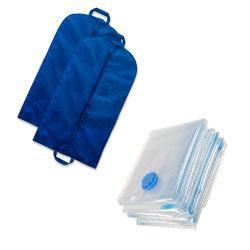 Чохли для одягу вакуумні пакети
