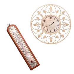 Годинники, термометри
