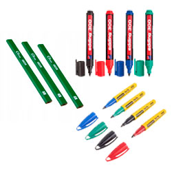 Олівці, рисувалки, маркера