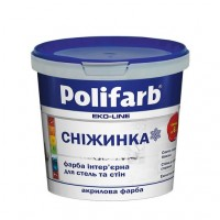 Фарба Сніжинка 7,0 (6.5) кг (Поліфарб)