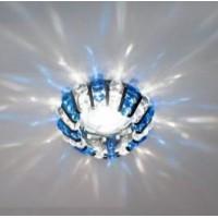 Світильник точковий CD2121 MR16 прозорий-синій, хром 50W(3345)
