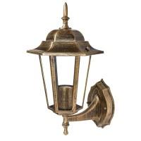 Світильник садово-парковий DELUX PALACE A001 чорний-золото