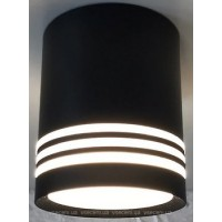 Світильник світлодіодний SUNDY DDL-299X 12W 4000K BK (колір чорний)