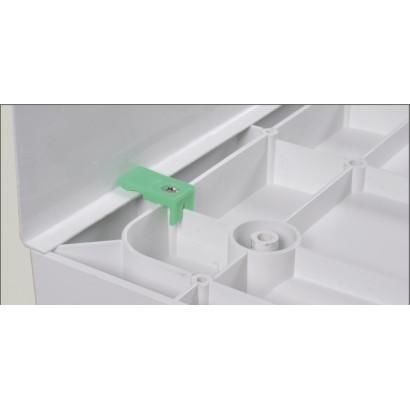 Комплект ножек (12шт) и креплений лицевой панели для поддонов 70(100)*100 и 80*120 (LG-12)