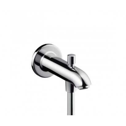 HANSGROHE излив на ванну E/S 152 мм с переключателем на душ, хром (13423000)