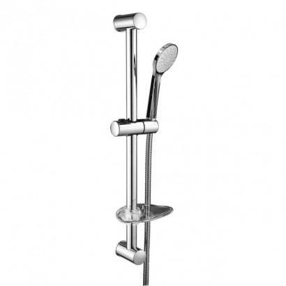 NEMO штанга душевая L-67 см, мыльница, ручной душ 1 режим, шланг 1,5 м (15146100)