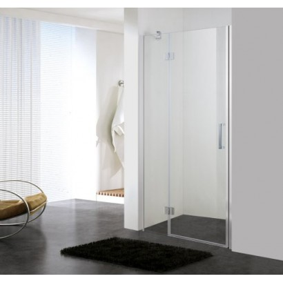 Дверь в нишу 100*195см распашная на петлях, прозрачное стекло 6мм (599-701(h))