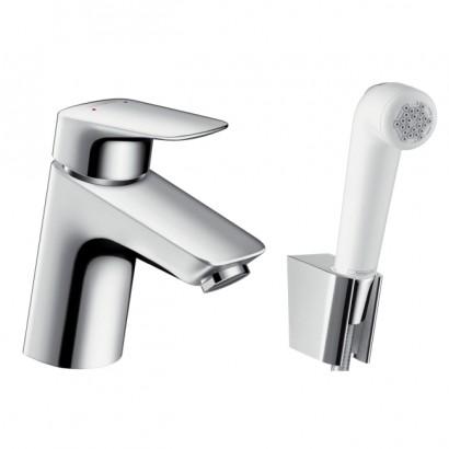 LOGIS смеситель для умывальника, однорычажный с гигиеническим душем (71290000)