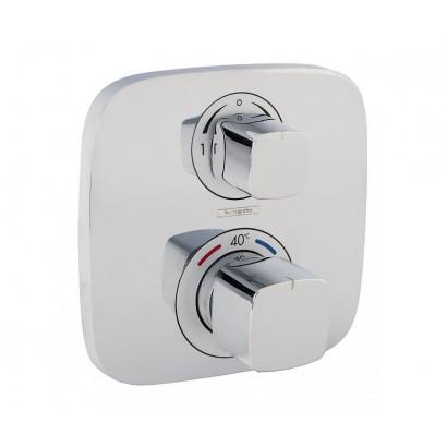 ECOSTAT E термостат с запорным/ переключающим вентилем (15708000)