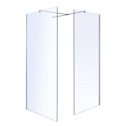 Держатель стекла (F) с креплениями, 1000мм (18-05F-100)