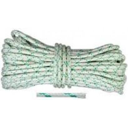 Шнур капроновий плетений д 14 мм