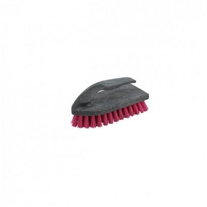 Щітка для чистки чорний каркас-кольорова щетина (SP-036)