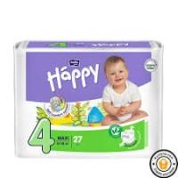 Підгузки дитячі HAPPY BELLA BABY maxi. ( вага 8-18 кг,27 шт)