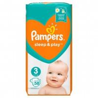 Дитячі підгузки PAMPERS Sleep N Play Midi Економічна упаковка 58