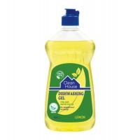 Гель для миття посуду «Лимон», ТМ «Clean House» 500г