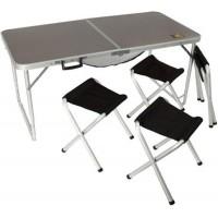 Набір меблів Tramp МДФ стіл 120х60х55/60/70см+4 табурета TRF-067 Tramp