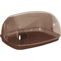 Хлібниця 37*27*18 (темно-коричневий) (167081)