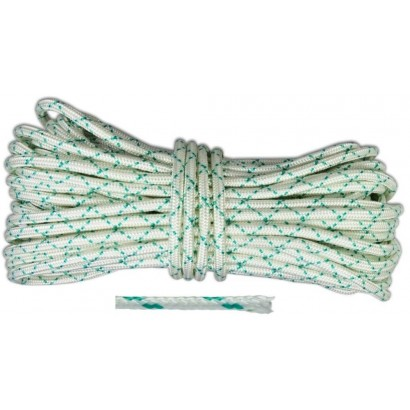 Шнур капроновий плетений д 10 мм