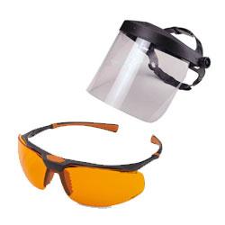 Захисні окуляри й маски